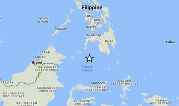 foto ingv terremoto filippine