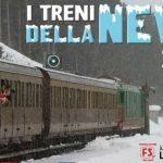 Treni storici Sulmona-Roccaraso sulla Transiberiana d'Italia innevata 2017