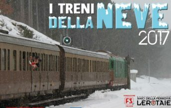 Treni storici Sulmona-Roccaraso 2017: a gennaio e febbraio, sulla Transiberiana d'Italia innevata