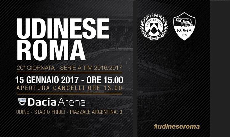 Udinese Roma probabili formazioni