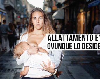 Allattamento al seno: petizione e flash mob nelle città italiane per farlo #ovunquelodesideri