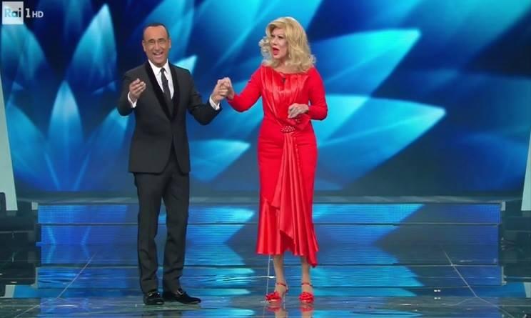 Virginia Raffaele a Sanremo 2017