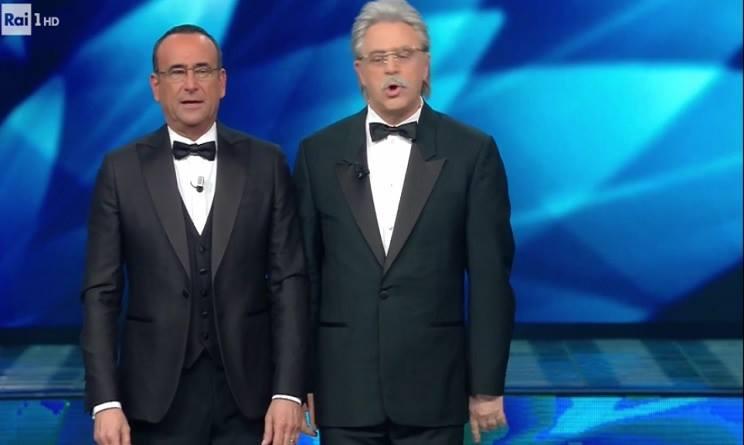 Sanremo 2017: Maurizio Crozza imita Antonio Razzi