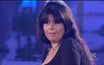 Annamaria Barbera a Domenica Live: lacrime in studio, per la figlia lasciò il compagno