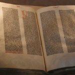 Bibbia di Gutenberg 23 febbraio 1455 era della stampa a caratteri mobili