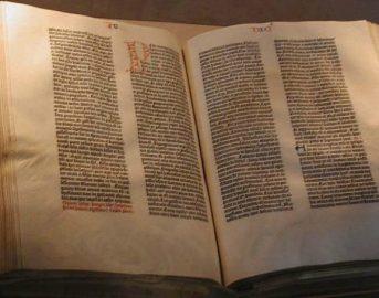 Bibbia di Gutenberg: il 23 febbraio 1455 nasceva la stampa a caratteri mobili