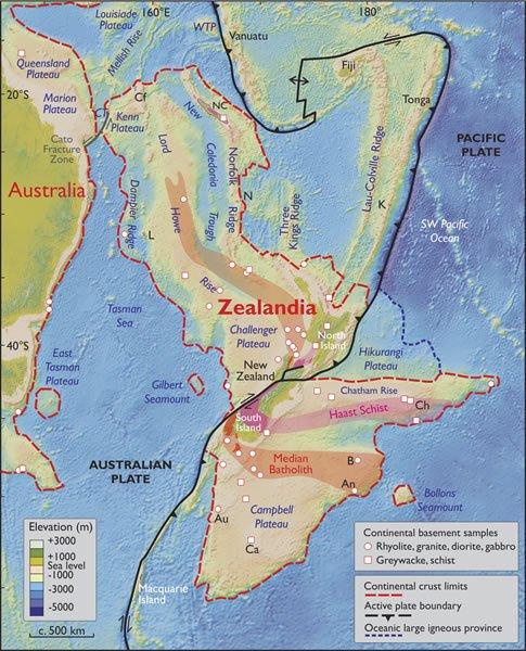 zealandia settimo continente
