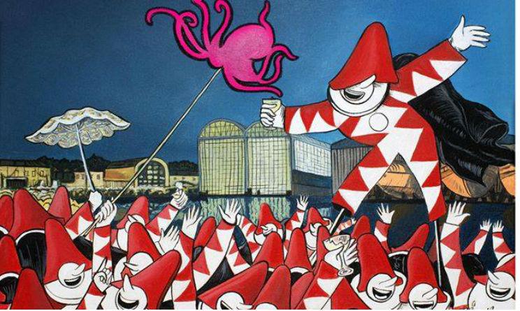 Viareggio: Carnevale 2017 e festa alla Darsena