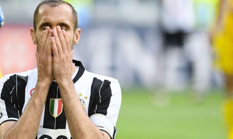 Juventus: niente Palermo per Chiellini