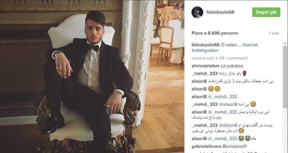 Ballando con le stelle 2017 concorrenti: Fabio Basile e Anastasia Kuzmina