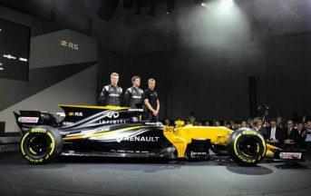 Formula 1 2017 Renault nuova vettura: ecco la R.S. 17 (FOTO)