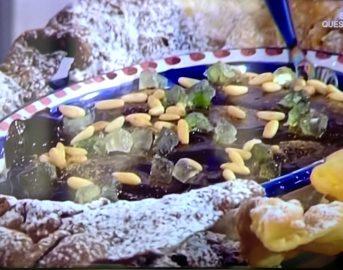 La Prova del Cuoco ricette dolci oggi: chiacchiere e cioccolaccio di Sal De Riso