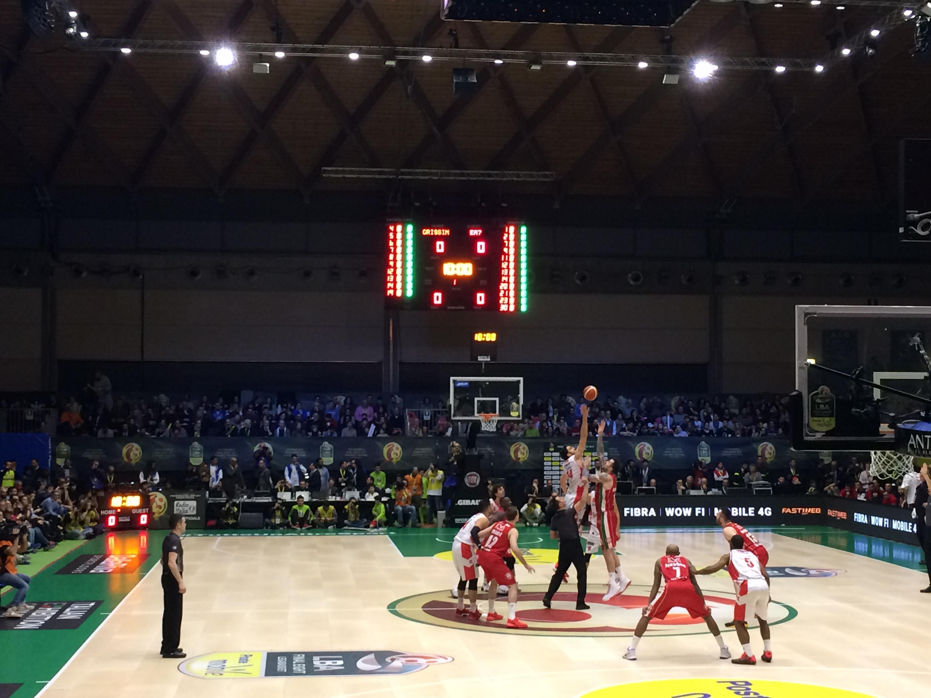 Reggio Emilia-Olimpia Milano Coppa Italia risultato finale