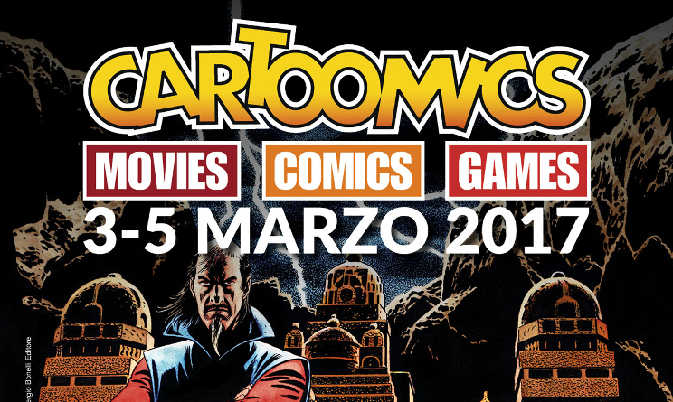 cartoomics 2017 milano