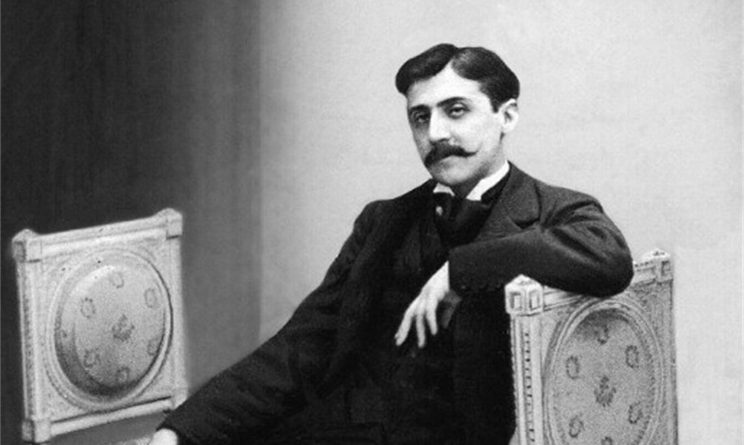 Marcel Proust immortalato in un filmato del 1904
