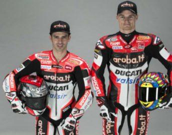 Superbike Ducati 2017: svelata la nuova Panigale 1199 R di Melandri e Davies [FOTO]
