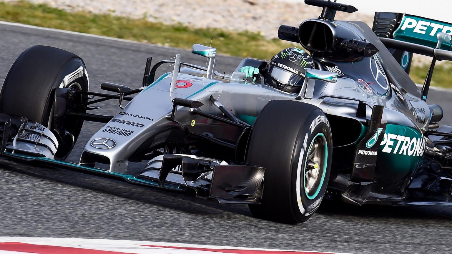 Formula 1 2017 Mercedes nuova vettura