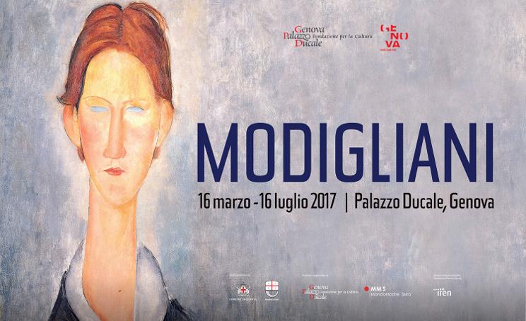 mostre genova 2017 palazzo ducale modigliani