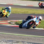 Motociclismo incidente Vallelunga