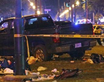 New Orleans, auto sulla folla durante la festa di Carnevale: 28 feriti