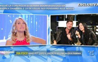 """Pomeriggio 5 Andrea Damante e Francesca De Andrè: """"mai chiesto il numero di telefono"""""""