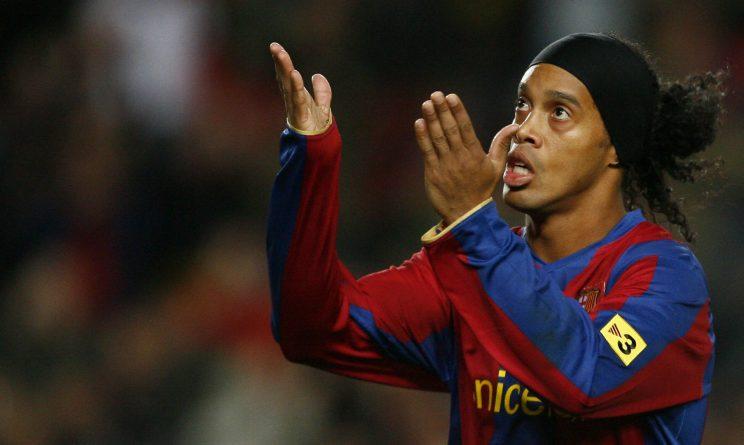 Ronaldinho si ritira: la stella verdeoro torna al Barcellona!