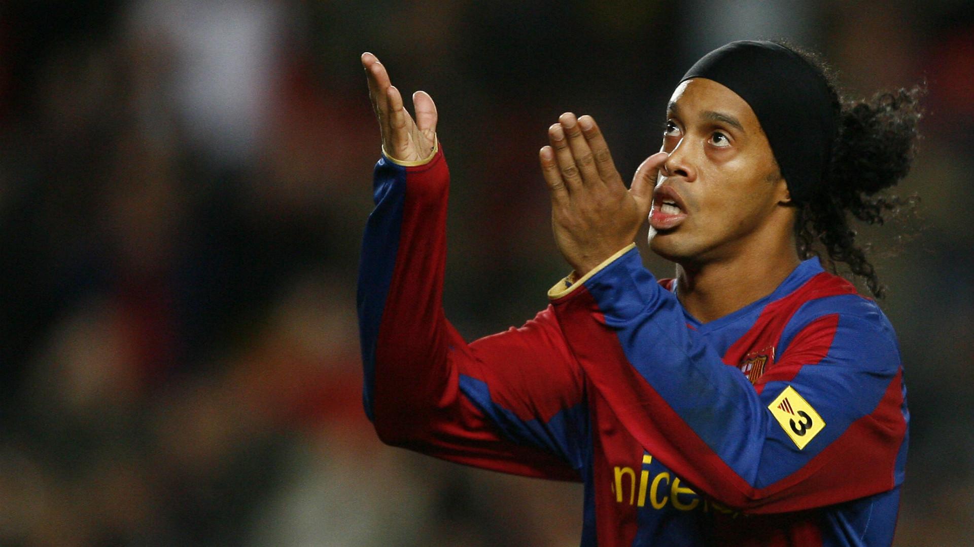 Ronaldinho Barcellona ritiro