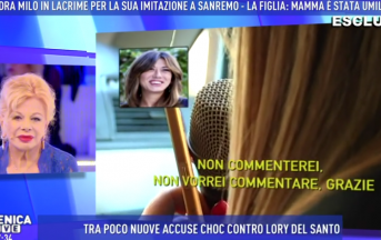 Sandra Milo a Domenica Live: il mistero della telefonata di Virginia Raffaele