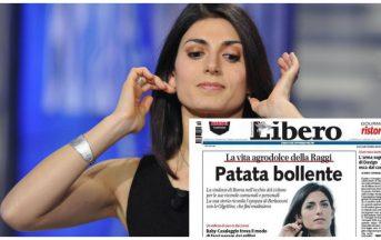 Virginia Raggi Libero: la prima pagina che unisce PD e Movimento 5 Stelle (FOTO)