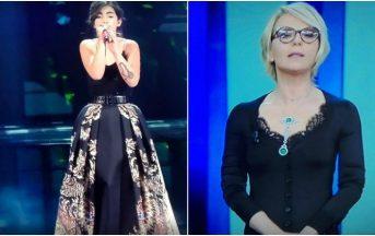 Sanremo 2017 vestiti: gli abiti più belli e gli scivoloni della seconda serata [FOTO]