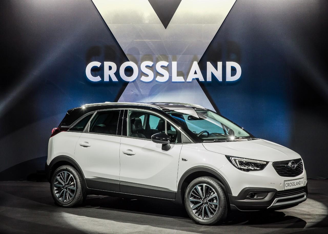 opel nuovi modelli 2017 Crossland X