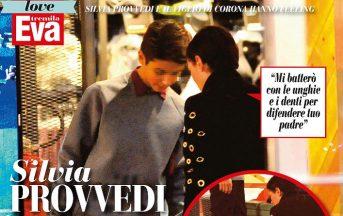 Fabrizio Corona gossip: Silvia Provvedi fa da mamma a Carlos