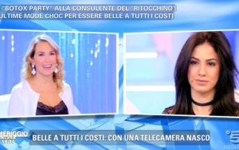 """Giulia De Lellis a Pomeriggio 5: """"Troppe curve non sono un bel vedere"""", scatta la polemica"""