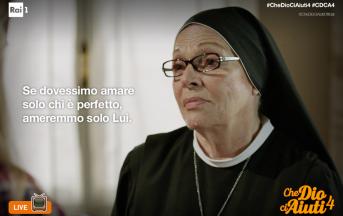 """Valeria Fabrizi, Che Dio ci aiuti 4 intervista esclusiva: """"Siamo la camomilla ideale per andare a dormire sereni"""""""