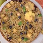 la prova del cuoco ricette 1 febbraio 2017, la prova del cuoco oggi, la prova del cuoco ricette oggi, la prova del cuoco ricette dolci, la prova del cuoco torta di mele e mirtilli, torta di mele e mirtilli ricetta natalia cattelani