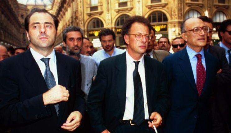 tangentopoli 25 anni fa