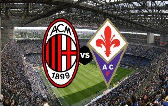 Milan – Fiorentina probabili formazioni e ultime news, 25a giornata di Serie A