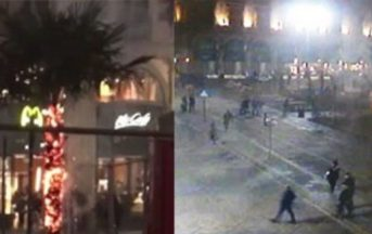 Milano palme bruciate, gruppo vandali filmato da telecamere: ecco il video che li incastra