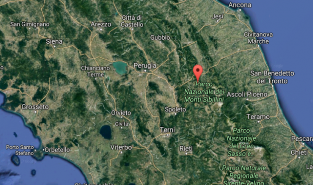 Ingv: nella notte tra Macerata e Perugia 7 scosse sismiche