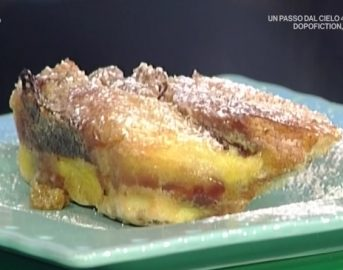 La Prova del Cuoco ricette dolci oggi: Bread Butter Pudding di Sergio Barzetti
