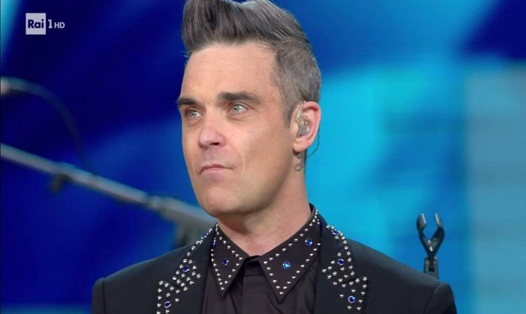 Sanremo 2017: Robbie Williams