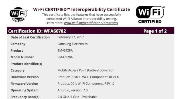 Android 7.0 Nougat sempre più vicino a Samsung Galaxy S6 Edge Plus