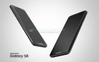 Samsung Galaxy S8 e S8 Plus vs iPhone 8 uscita, scheda tecnica rumors [immagini]: il brand coreano sopprimerà la linea Note?