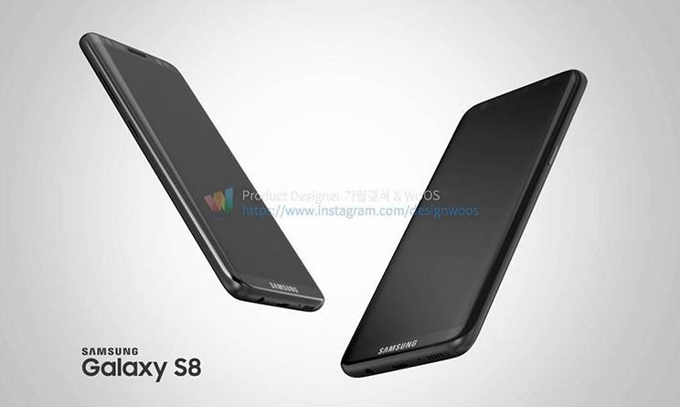 Samsung Galaxy S8, arriva il nuovo concept sul design, rumors