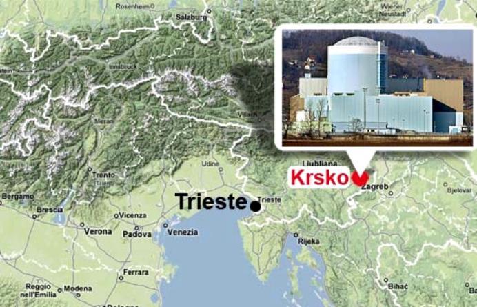 slovenia bufala guasto centrale nucleare