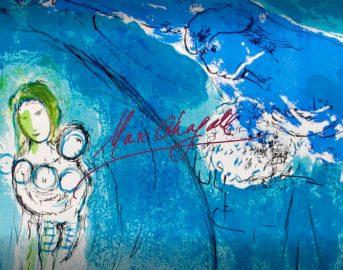 """Chagall Torino 2017: in mostra """"L'artista che dipingeva le fiabe d'amore"""""""