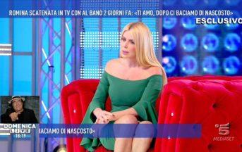 Loredana Lecciso a Domenica Live: dalla lite di Al Bano alla richiesta di matrimonio