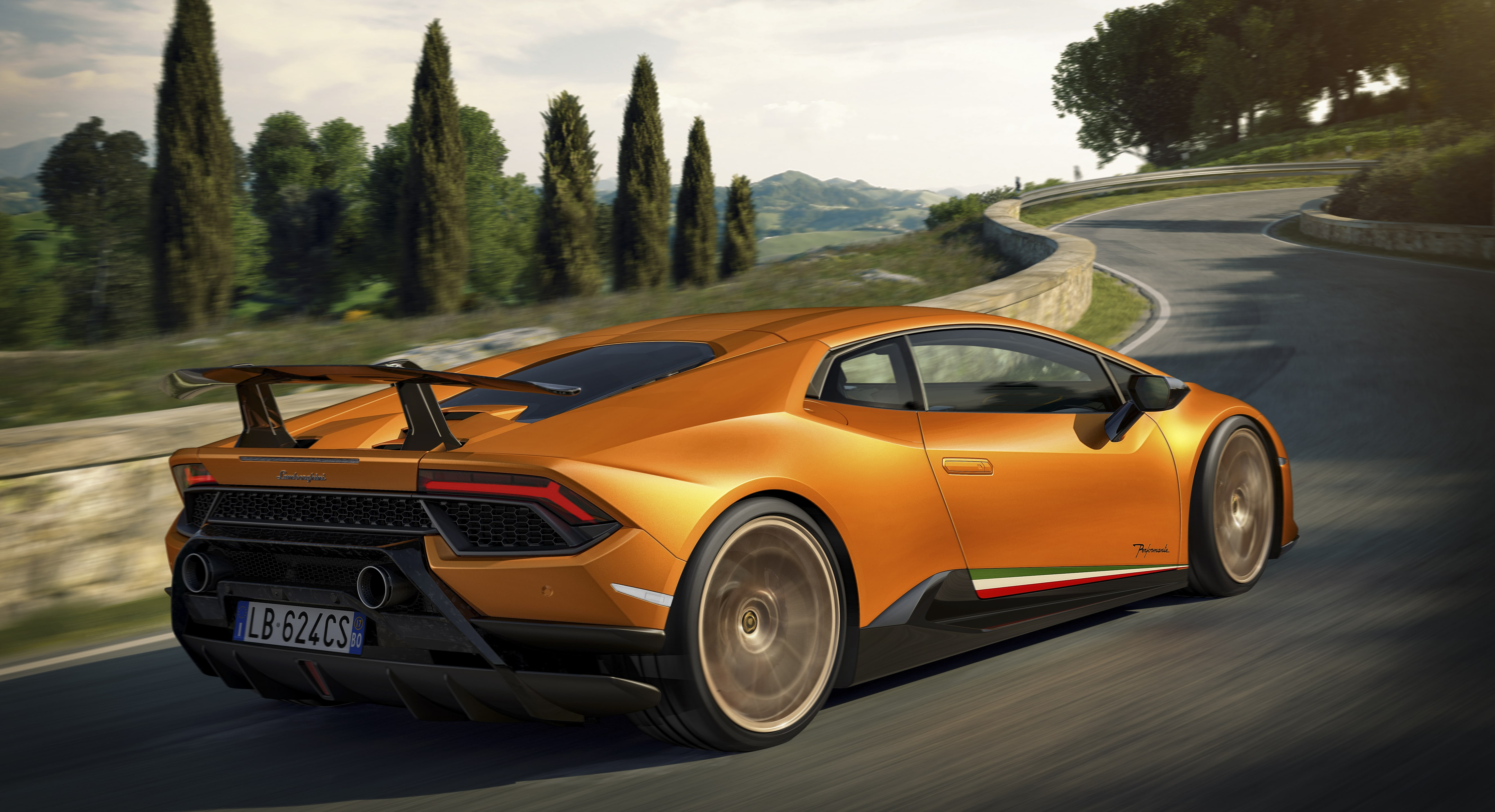 Nuova Lamborghini Huracán Performante