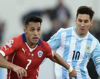 Diretta Argentina – Cile dove vedere in tv e sul web gratis Qualificazione Mondiali Russia 2018