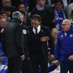Conte Mourinho litigano Chelsea-Manchester United